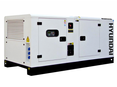 Gerador à Diesel HYUNDAI DHY100KSE - 99 KVA - SILENCIADO - TRIFASICO