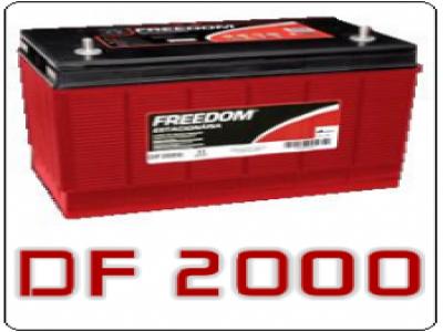 Bateria Estacionaria Freedom DF 2000 - 115 Ah