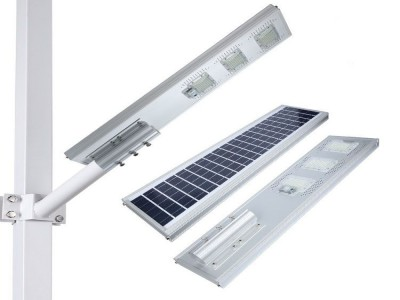 Luminária Pública Solar 150W integrada