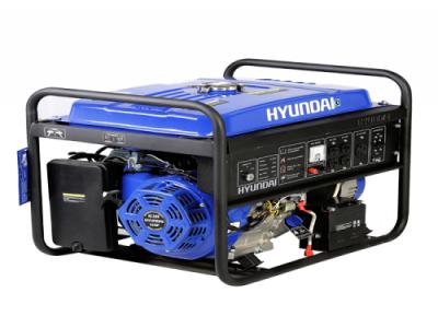 Gerador de Energia HYUNDAI  à Gasolina HHY7500FE-3 - 6,5 kva Trifasico