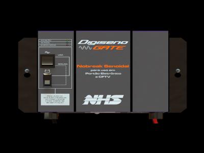 Nobreak NHS para portão de garagem Digi-seno 1/2 HP