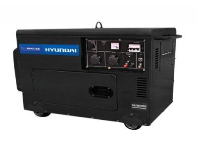 Gerador de Energia a Diesel  HYUNDAI DHY8000SE - SILENCIADO - 7kva