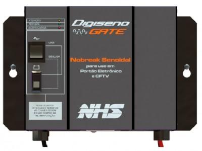 NoBreak DIGISENO GATE para portão de até  3/4 HP - NHS