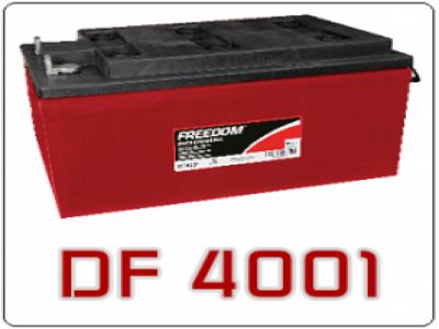 Bateria Estacionária Freedom DF4001 220Ah/240Ah