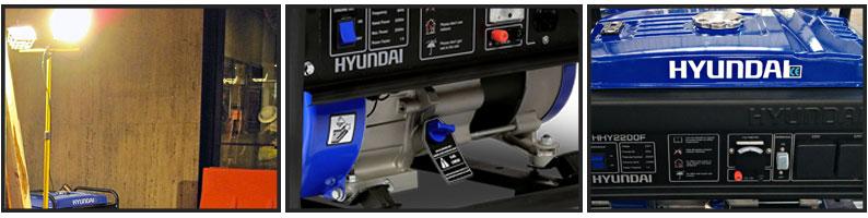 Gerador de Energia à gasolina HYUNDAI